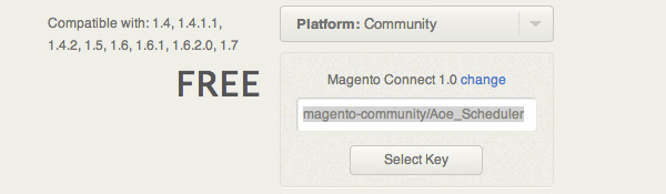 Magento Download Extension